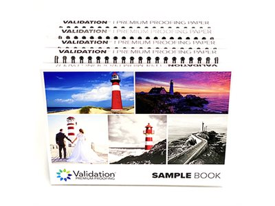VALIDATION SWATCHBOOK & BROCHURES